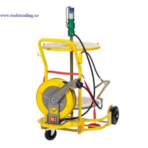 Smörjutrustning pneumatisk 60:1 för fat 180-220 kg