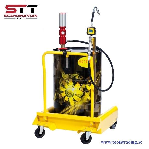 Olje påfyllnings kit lämplig för fat 180-220 liter # MEC-022-1290-000
