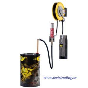 Oljestation med pneumatisk pump , #MEC-022-1299