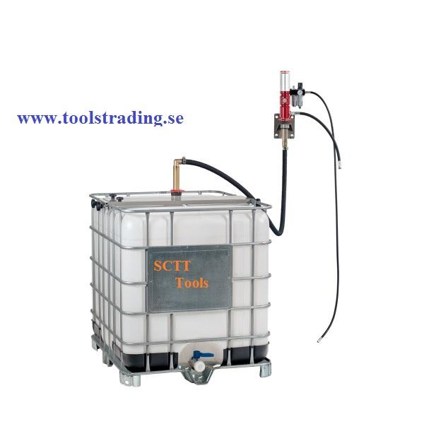 Vägg- fast olje set för tankar 1000 l #EC-045-14650