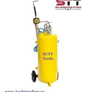 Oljepåfyllare Luftdriven 50 Lit med digital mätare #MEC-027-1312-000