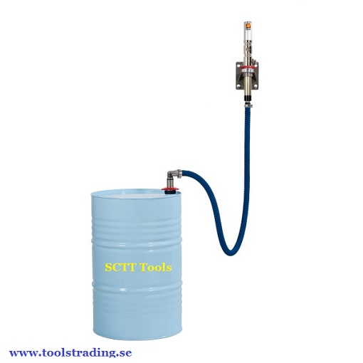Pump kit luftdrivet för glykol och spolar vätska för vägg montering # MEC-029-1380