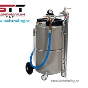 Sug Industriell luftmanövrerad för vätskor 90 l # MEC-040-1427