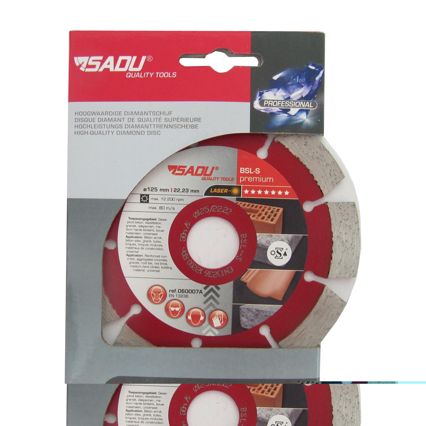 Diamond Disc Premium 180x22, 23x12mm BSLS