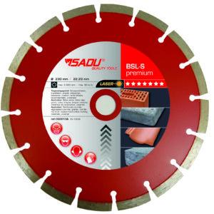 Diamond Disc Premium 230x22, 23x12mm BSLS