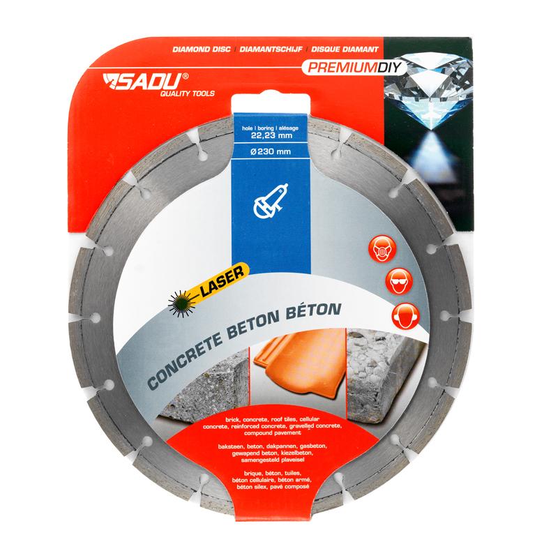 Diamond Disc Premium DIY 115x22, 23x7mm (betong)