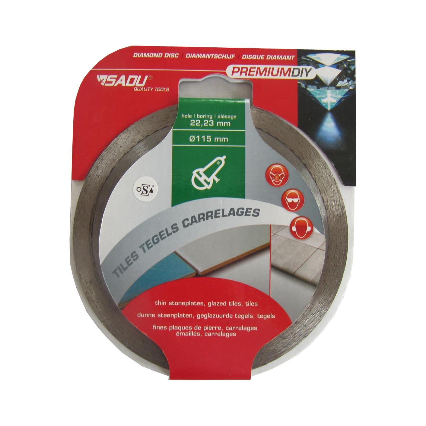 Diamond Disc Premium DIY 115x22, 23x7mm (kakel)