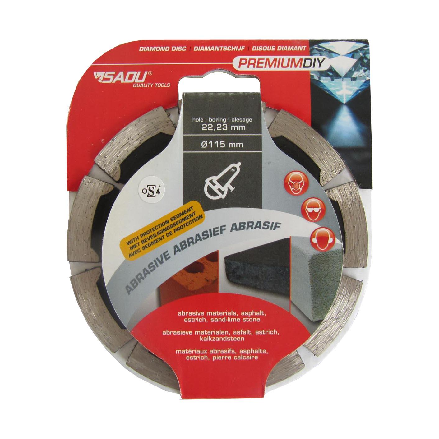 Diamond Disc Premium DIY 115x22, 23x8mm (slipmedel)