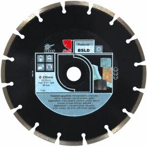 Diamond Disc Premium 230x22, 23x12mm BSLD