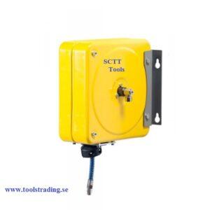Slangvinda Stängd  luft-vatten 20 bar # MEC-074-4301-211