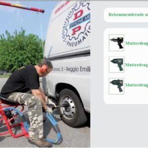 Smal Upphängning System Vagn # DEP-181-C.02.0033