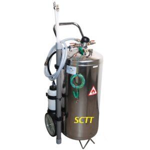 Bränsletömmare  för tömning av bensin-och dieselbränslen    # 989-8702-2