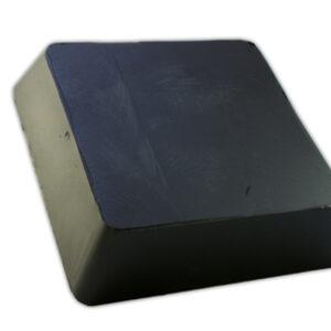 Gummiblock pad 150 x 150 x 40 mm, J.A.B Becker , autotp lyft #2789-165034