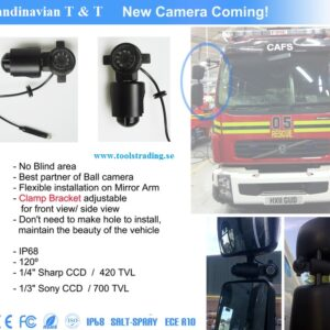 Ving Spegel Arm Kamera # BR-RVC07-AC