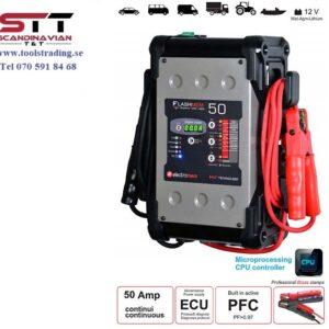 Batteriladdare 50 Amp 6m kablaR # 2-EM-13455