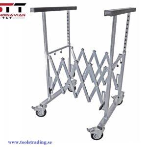 Stativhållare på hjul för plåt och Lack