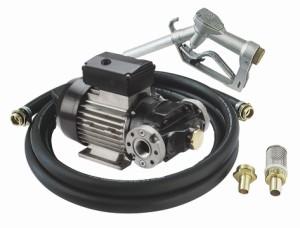 Diesel - oljetank transfer kit med volymetrisk lamell pump 220