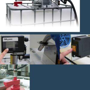 Elektriska olja dieselpumpar AD-Blue maskin kit
