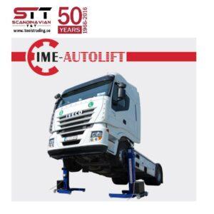 Lyftbock mobila för Lastbil o släp # IME-PM-6001