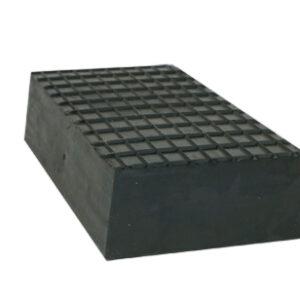 Gummiblock pad  200 x 110 x 40 mm, bla Zippo billyft # 2789-38.31.829