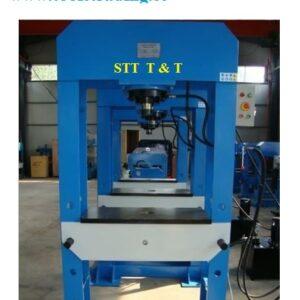 Verkstadspress 80 Ton Golv modell, Handpump # CHANG-HP-80T-A