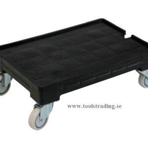 Förflyttningsvagn för Plastlådor 43 x 63 x 21 cm #SMBL-4363