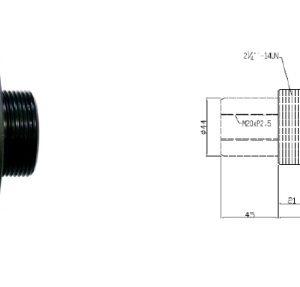 Hydraulcylinder 18 Ton # CH-116-0506-1