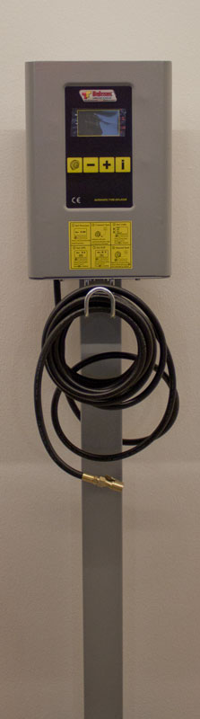 Luftpåfyllare elektronisk inkl kompressor