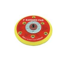 Slipunderläggs pad 125 mm kardborr | 6 hål #78-CPAD-5096