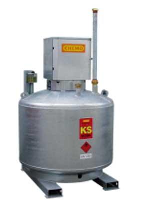 Tank, förstärkt stål säkerhets tank