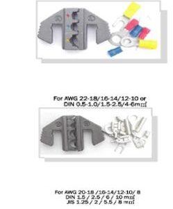 Snabbkabelskotång inkl kabelskor #1064-GL0602