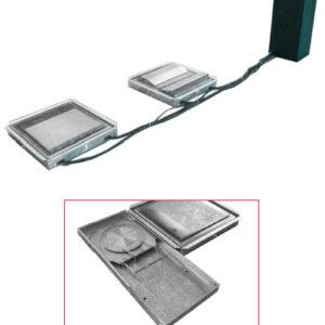 Skakplattor för golv montering