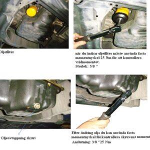 Oljeplugg repartions kit  M17 x 1,5 #  JBM-53237