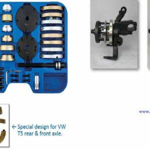 Hjul Nav & Lagerverktyg set Kompakt # 901-PC-9243