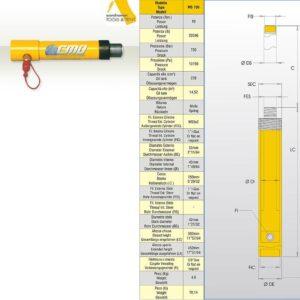 Hydraulcylinder 10 ton # CMO-MS150