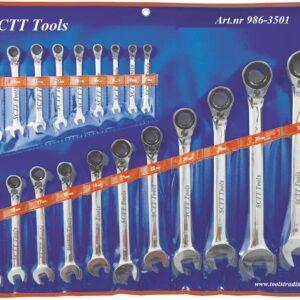 Ringspärrnyckel  sts 6 - 32 mm # PJ-3501