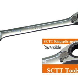 Ringspärrnyckel lösa från 6 till 32 mm   72 tand