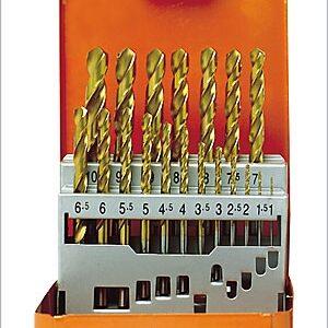Borrkasset HSS-TIN 1-10 mm # PJ-60390