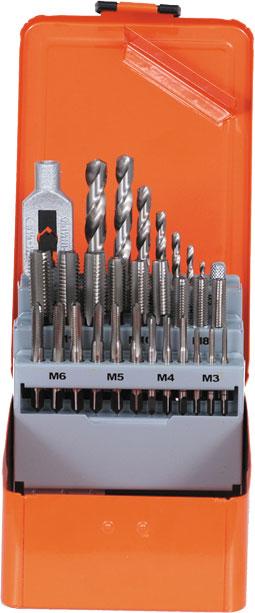Gäng sats HSS-G M3-M12 # PJ-91007