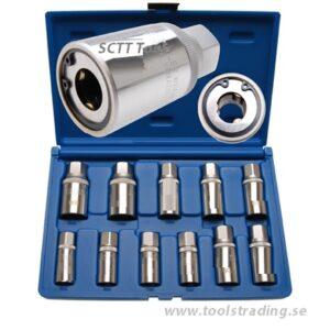 Pinnbultsverktygsats 5 - 16 mm