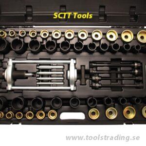 Hydraulisk bussning pressverktyg set 10 Ton