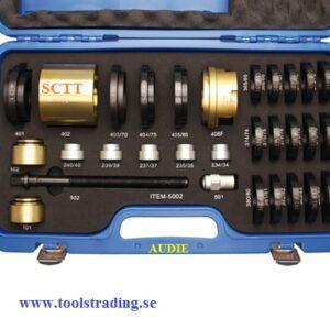 Hjullagerverktygssats för Audi # 989-8738