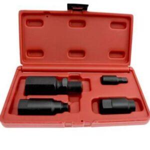 Dieselinsprutning djup hylssats med 4 hylsor #1064-5011716-4PC