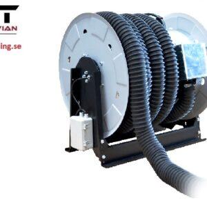 Avgasslangvinda motoriserad  75 mm x 5 m   # AER-ARHM2.0-75-5