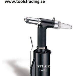 Popnitpistol Lufthydraulisk  2,4 till 4,8 mm # WP-AHR-201