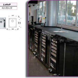 Verkstadsinredning ,Tvättställ  tvättho # FIL-AT-VSCX-443