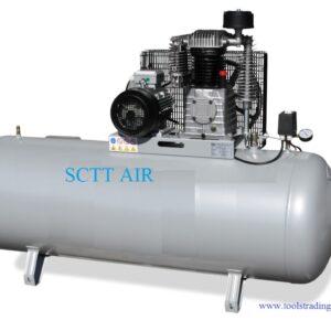 Kompressor 600 L/min med tank 500 Lit Art nr ATH-KK850-550-15L