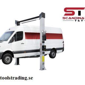 Billyft 2-pelare 4000 kg Elektro hydraulisk fordons lyft # ATH-2.40-HL3-L
