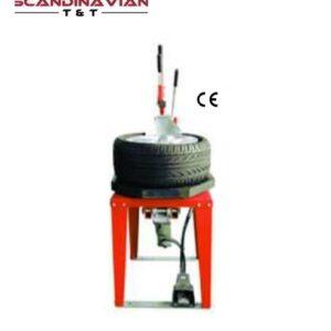 Pneumatisk däck nedtrycks maskin