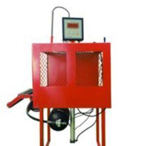 Däckluftnings skyddsbur max  hjul 900 mm # BON-BJ-T82012